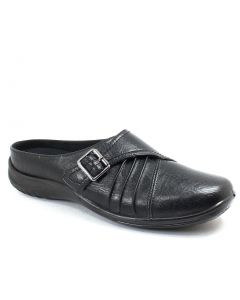 Easy Street Women's Hart Flat Slide Black