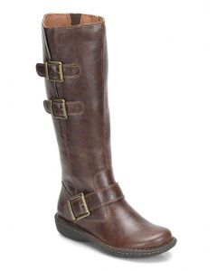 b.o.c Women's Virginia Wide Shaft Dark Brown