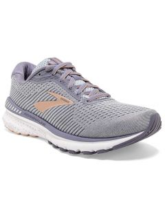 Brooks Women's Adrenaline GTS 20 Grey Peach