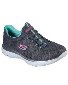 Skechers Women's Summits Charcoal Green