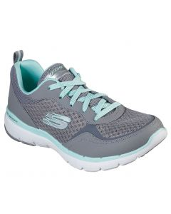 Skechers Women's Flex Appeal 3.0 Go Forward Grey Multi