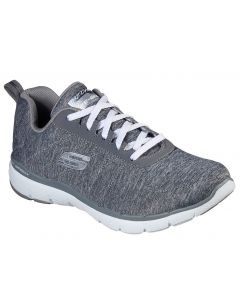 Skechers Women's Flex Appeal 3.0 Insiders Grey Heather