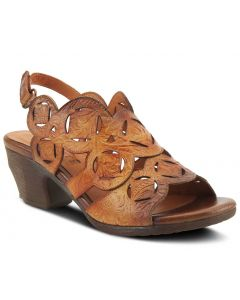 L'Artiste Women's Medallion Camel Multi