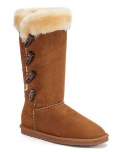 Lamo Women's 4 Toggle Chestnut