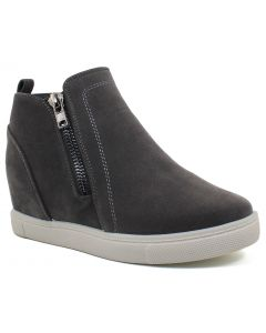 Outwoods Women's Hide-1 Grey Suede