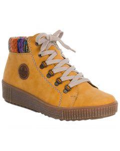 Rieker Women's M6411-68 Yellow