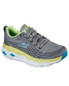 Skechers Women's Max Cushioning Ultimate Grey Lime