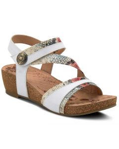 L'Artiste Women's Meera White Multi