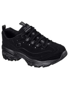 Skechers Women's D'lites Play On Black
