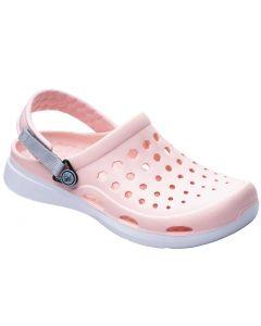 Joybees Women's Modern Clog Pink White