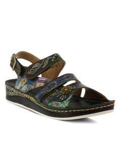 L'Artiste by Spring Step Women's Sumacah Black Multi