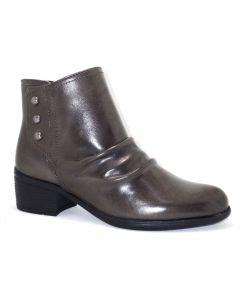 Bussola Women's Antwerpen Snap Button Boot Dark Taupe
