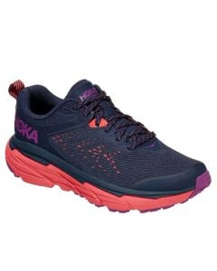 Hoka One One Women's Challenger ATR6 Black Iris Hot Coral