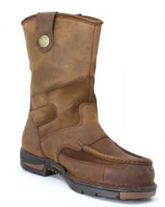 Georgia WP Wellington Brown Work Boot