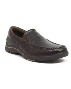 Rockport Men Eberdon Slip-on Dark Brown Leather