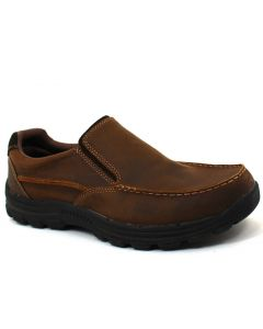 Skechers Men's Braver Rayland Dark Brown