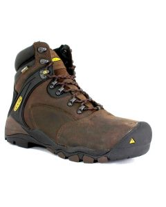 "Keen Men's Louisville 6"" WP Cascade Brown"