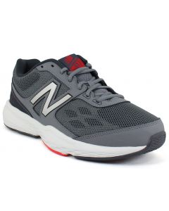 New Balance Men's MX517 Grey Red