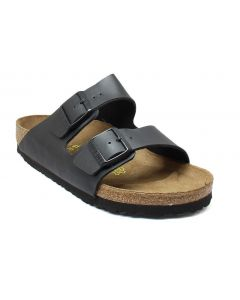 Birkenstock Men's Arizona Black Birko-Flor