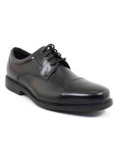Rockport Men's Charles Road Cap Toe Oxford Black