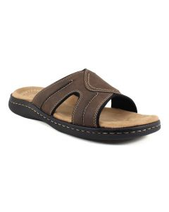 Dockers Men's Sunland Slide Dark Brown