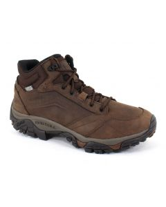 Merrell Men's Moab Adventure Mid Waterproof Dark Earth
