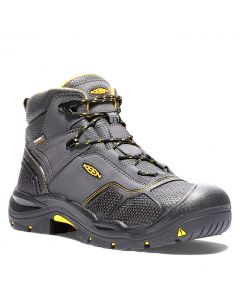 Keen Men's Logandale Waterproof Raven Black