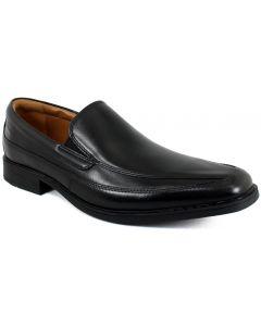 Clarks Of England Men's Tilden Free Black Leather