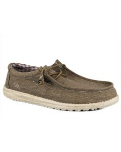 Hey Dude Men's Wally Washed Nut