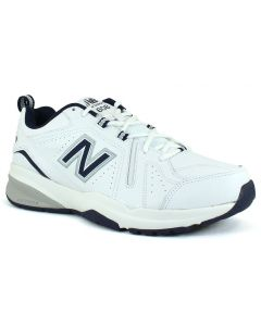 New Balance Men's 608v5 White Navy