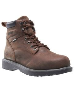 Wolverine Men's Floorhand WP 6 Inch Dark Brown