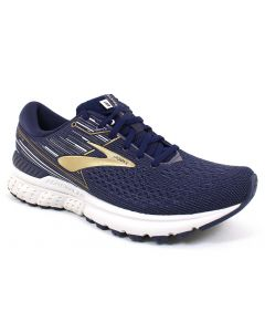 Brooks Men's Adrenaline GTS 19 Navy Gold Grey
