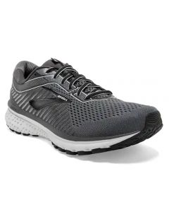 Brooks Men's Ghost 12 Black Pearl Oyster
