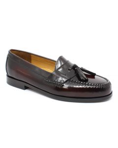 Cole Haan Men's Pinch Tassel Burgundy