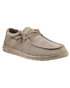 Hey Dude Men's Wally Sox Beige