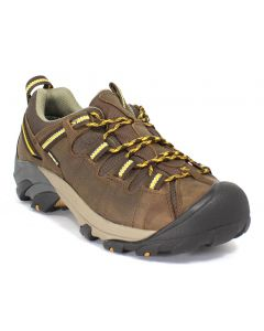 KEEN Men's Targhee II Cascade Brown Golden Yellow