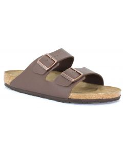 Birkenstock Men's Arizona Brown Birko-Flor