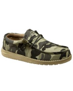 Hey Dude Men's Wally Canvas Camo