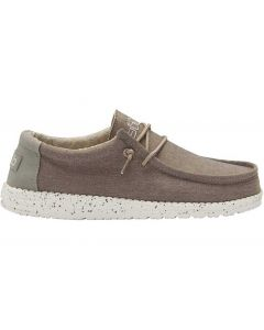 Hey Dude Men's Wally Chambray Brown