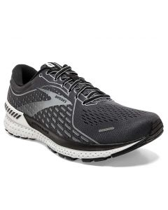 Brooks Men's Adrenaline Gts 21 Blackend Pearl Black Grey