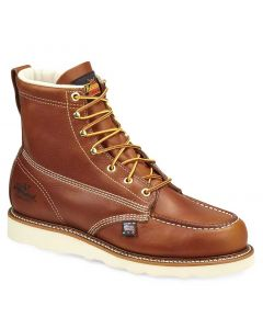 Thorogood Men's 6 Inch Heritage Moc EH ST Wedge Tobacco