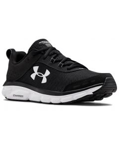 Under Armour Men's UA Charged Assert 8 Black-White-White