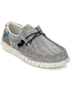 Hey Dude Men's Wally Funk Grey