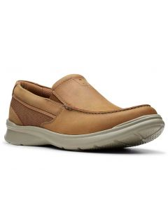 Clarks Men's Cotrell Easy Tan Combo