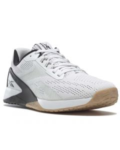Reebok Men's Nano X1 White Black Reebok Rubber Gum