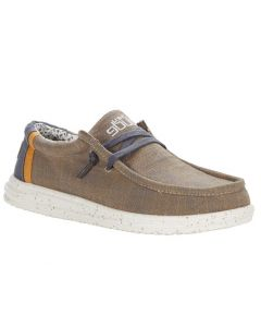 Hey Dude Men's Wally Free Natural Beige