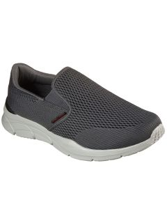 Skechers Men's Equalizer 4.0 Triple Play Charcoal Red