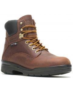 Wolverine Men's DuraShocks SR WPF 6 Inch Dark Brown