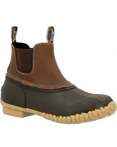 Georgia Boot Unisex Marshland Chelsea Brown