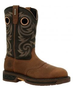 Georgia Boot Men's 11 Inch Carbo-Tec LT WP Brown Black